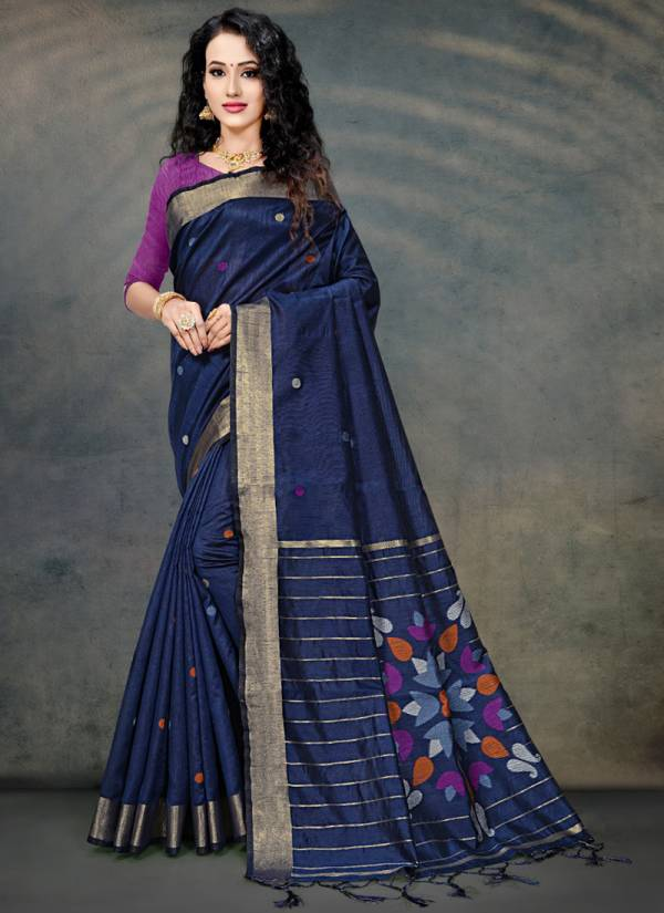 Kodas Sanyog Combo Series 8078-8085 Cotton Silk Gorgeous Look New Designer Sarees Collection