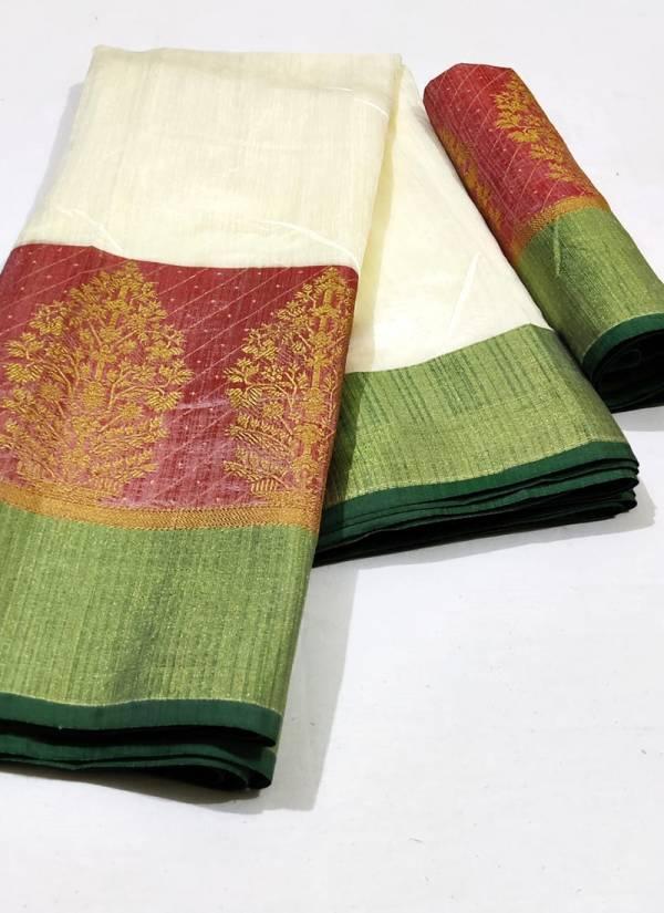 Nakshatra Fashion Studio Vol 5 Cotton Silk With Zari Border Fancy Rich Pallu Traditional Wear Designer Sarees Collection