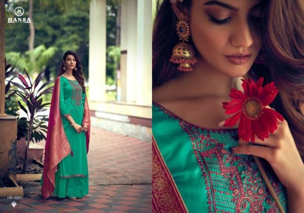 Saanj BSY Dola SIlk Dayed With Work Wedding Wear Anarkali Salwar Suits Collection