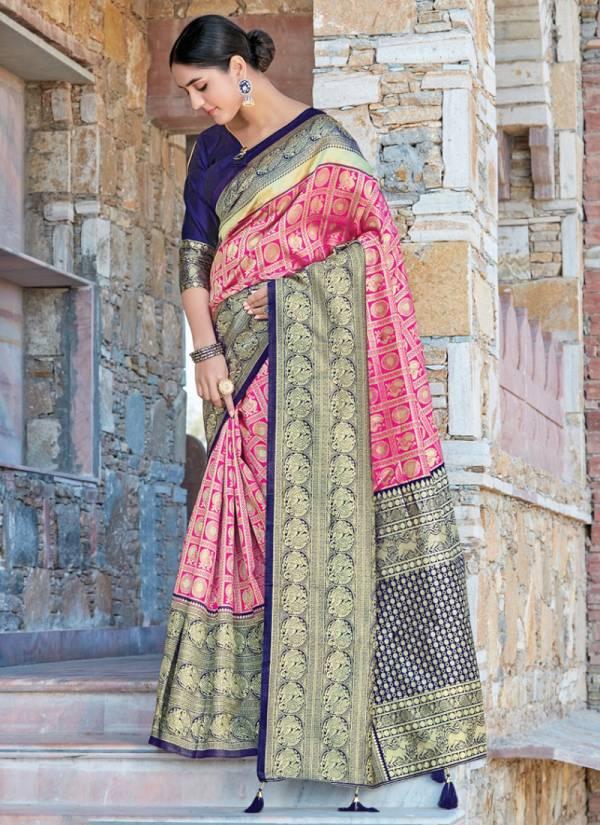 Sangam Prints Sui Dhaga Silk Exclusive Designer Traditional Wear Sarees Collection