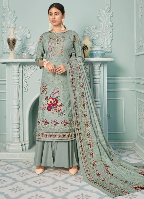 Yashika Trendz Zulffat Vol 1 Series 1001-1010 Pure Lawn Printed New Stylish Look Daily Wear Palazzo Suits Collection
