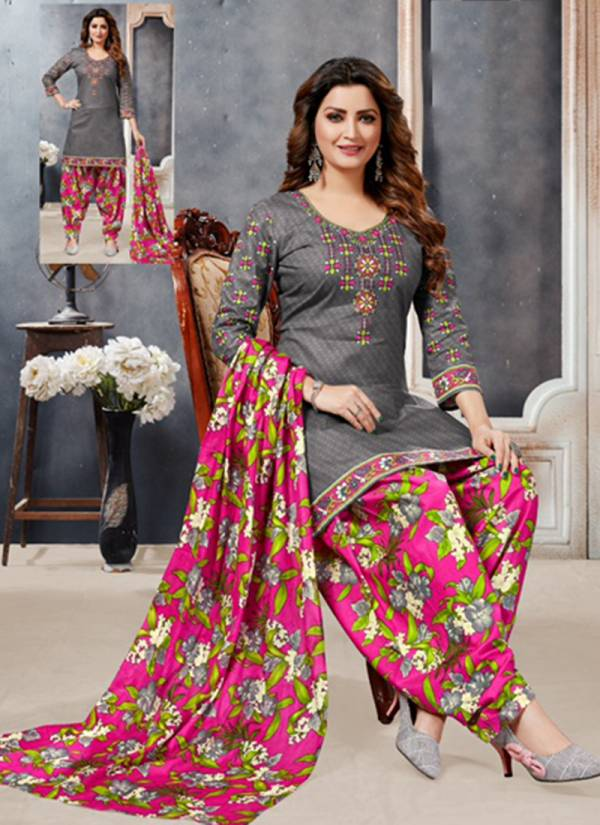 Palak Choice Baby Doll Vol 2 Series 201-212 Pure Printed Cotton Daily Wear New Fancy Patiyala Suits Collection For Girls