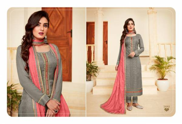 Rangoon Royal Touch Vol 3 Series 2681-2684 Pure Bemberg Lucknowi With Khatli Hand Work New Designer Readymade Salwar Suits Collection