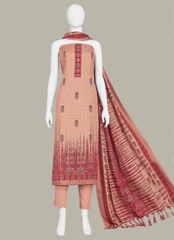 Bipson Preeto Series 1168A-1168D Exclusive Winter Season Pashmina Print Office Wear Suits Collection