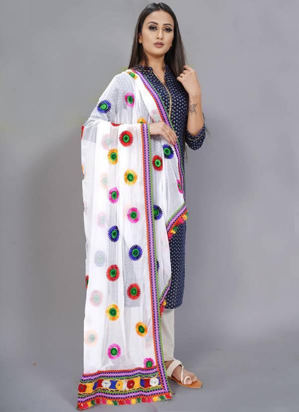 Vilohit Enterprise Royal Rajwadi Series ROYALRAJWADI-21-ROYALRAJWADI-23 Heavy Nazneen Latest Designer Casual Wear Dupatta Collection