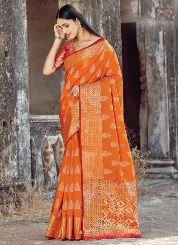 Sangam Prints Matsya Silk With Latest Swarovski Diamond Work Sarees Collection