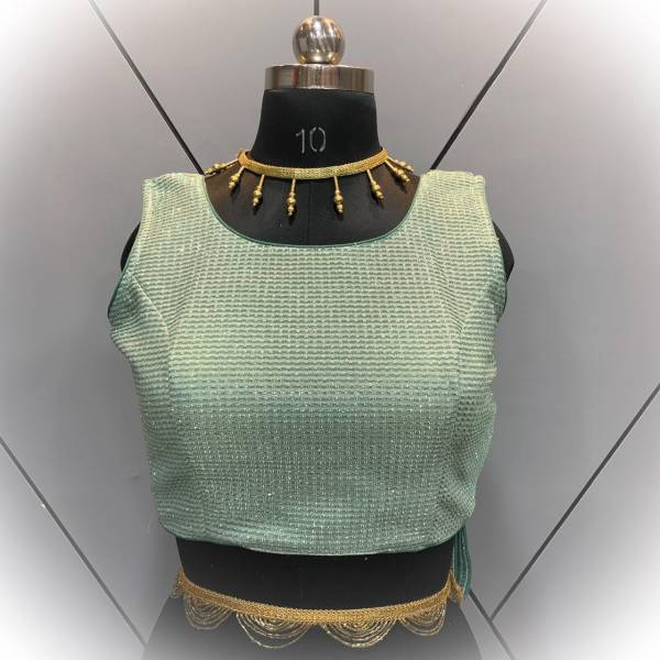 Ruhi Fashion Series 1-10 Imported Net Party Wear Designer Back Hooks Readymade Blouses Collection