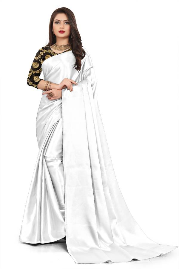 Chirag Series 01-018 Rich Satin Fancy Latest Casual Wear & Festival Wear Sarees Collection 1