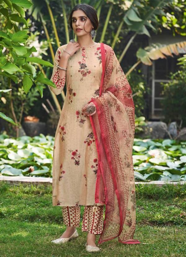 Neha Fashion Nova Silk TBD Muslin Silk Printed And Hand Work Readymade Salwar Suits Collection