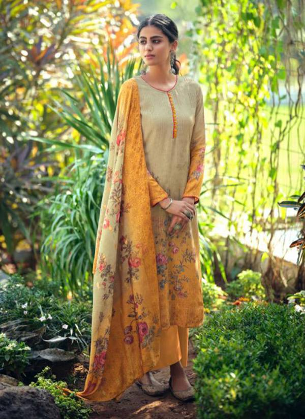 Karma Qaynat Series 918-923 Muslin Embroidery Digital Print Festival Wear Latest Designer Palazzo Suits Collection