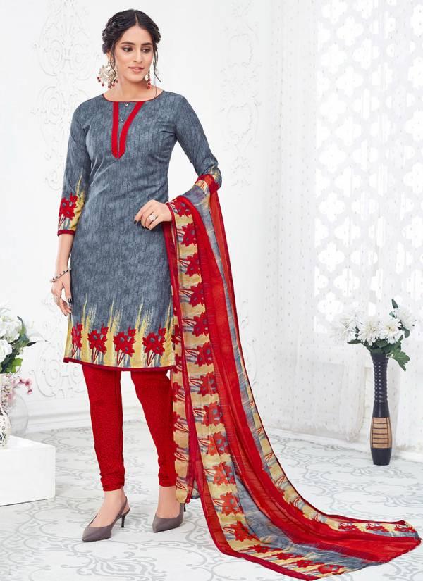 Shree Gurukrupa Dresses Hotline American Crape Fancy Designer Suit Collection