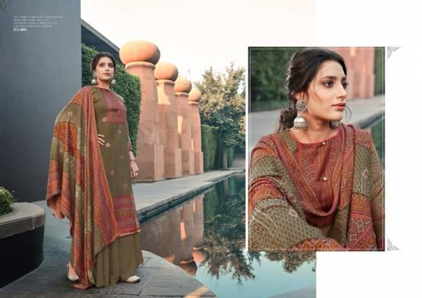 Zulfat Designer Suits Winter Breeze Vol 2 Series 212-001-212-010 Digital Style Print Pashmina Designer Winter Suits Collection