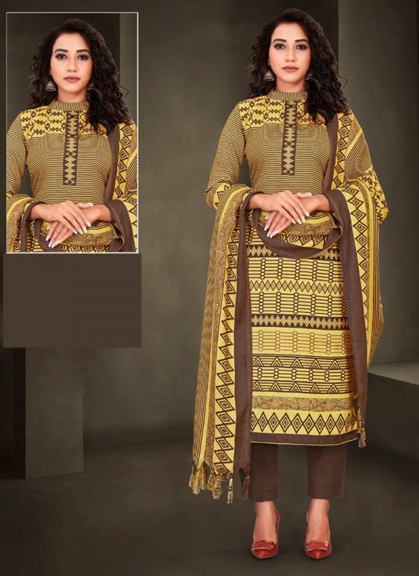 Bipson Preeto Series 1196A-1196D Winter Season Special Latest Designer Pure Pashmina Print Suits Collection