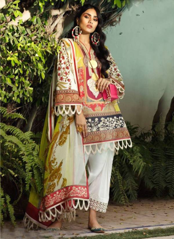 Kaara Firdous Vol 6 Series 6001Firdous-6004Firdous Jam Satin Print With Heavy Embroidery Work Latest Designer Pakistani Suits Collection