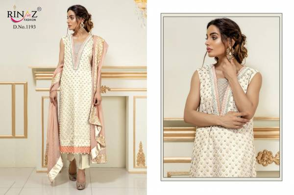 Rinaz Fashion Block Buster Vol-9 Fox Georgette with Heavy Embroidery Work Anarkali Suit Collection