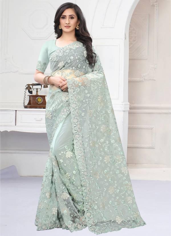 Utsav Nari Almora Series 781-789 Net With Heavy Resham And Coding Zari Embroidery Work Festival Wear Sarees Collection