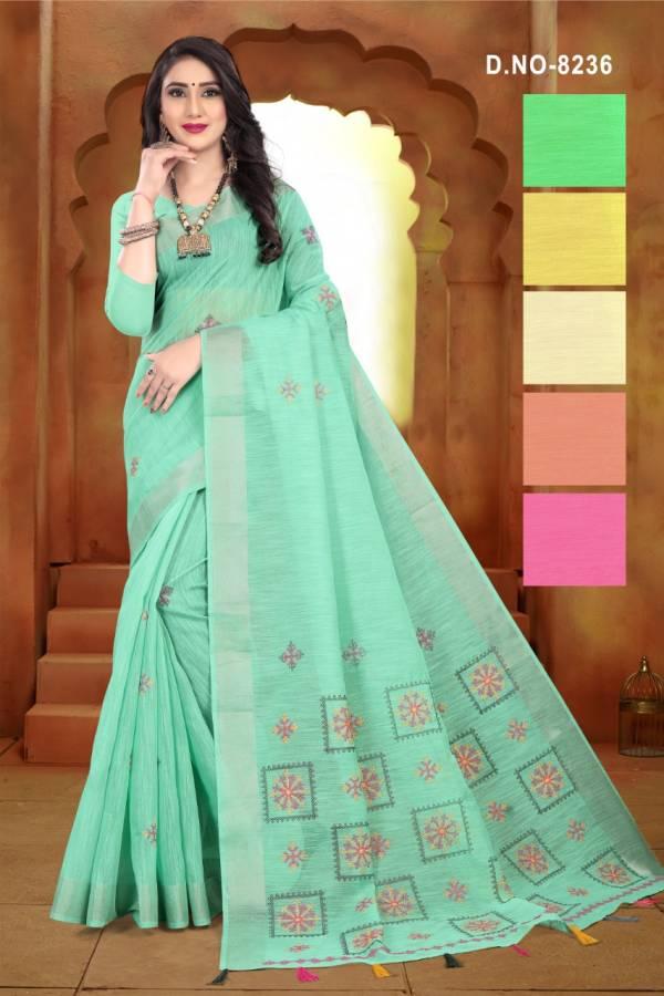 Kodas Disha Series 8232-8237 Handloom Weaving Work Designer Saree Collection