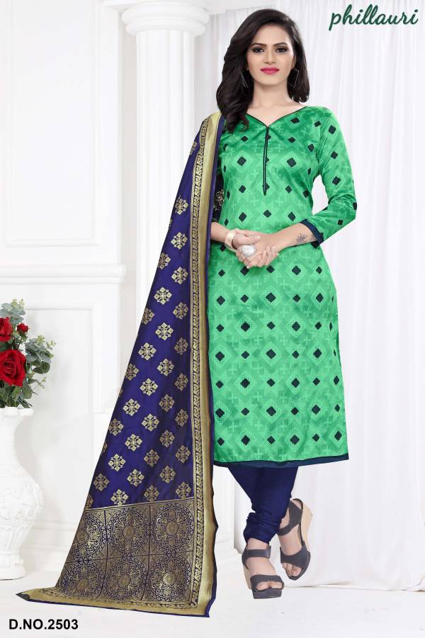 Kesari Exports Phillauri Vol 25 Bandhani Jacquard Silk Designer Suits Collection