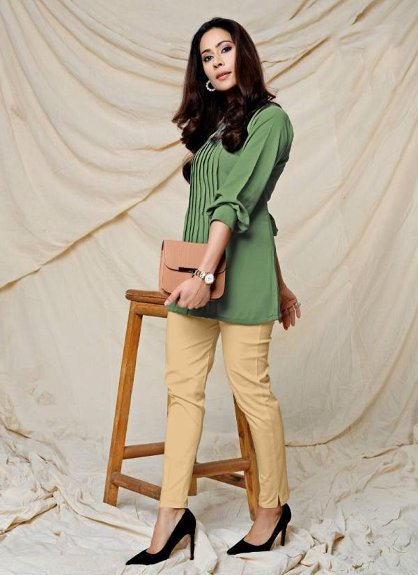 Indira Apparel Forever 2 Series 3801-3808 Soft Viscose Georgette Fancy Top & Bottom Casual Wear Collection