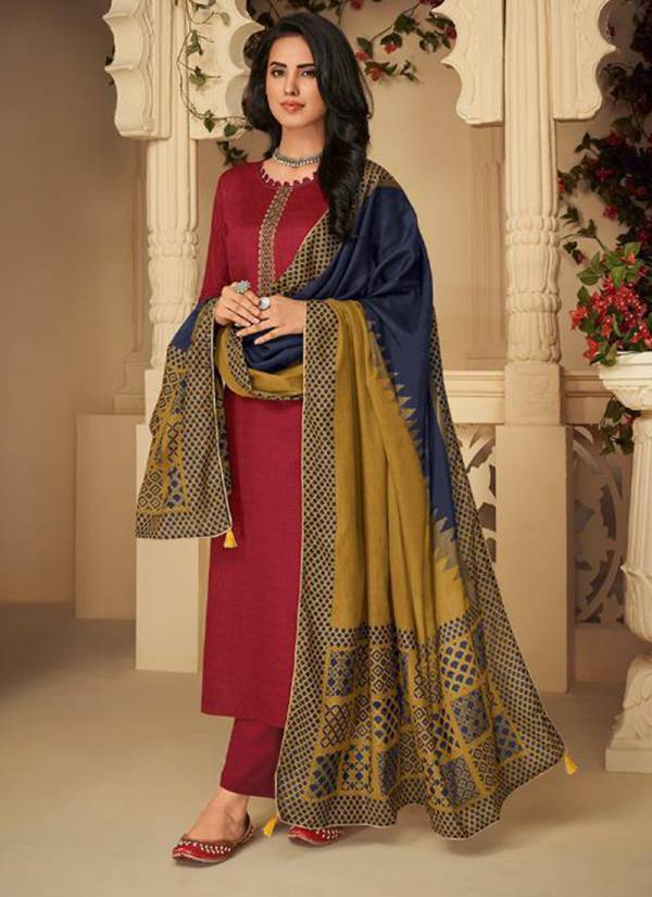 Deepsy Panghat Vol 4 Series 45001-45008 Pure Pashmina With Embroidery Work Fancy Regular Wear Palazzo Suits Collection