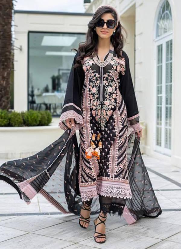 Rawayat Rani Saheba Pure Cotton Embroidery Work Wedding Wear Designer Pakistani Suits Collection