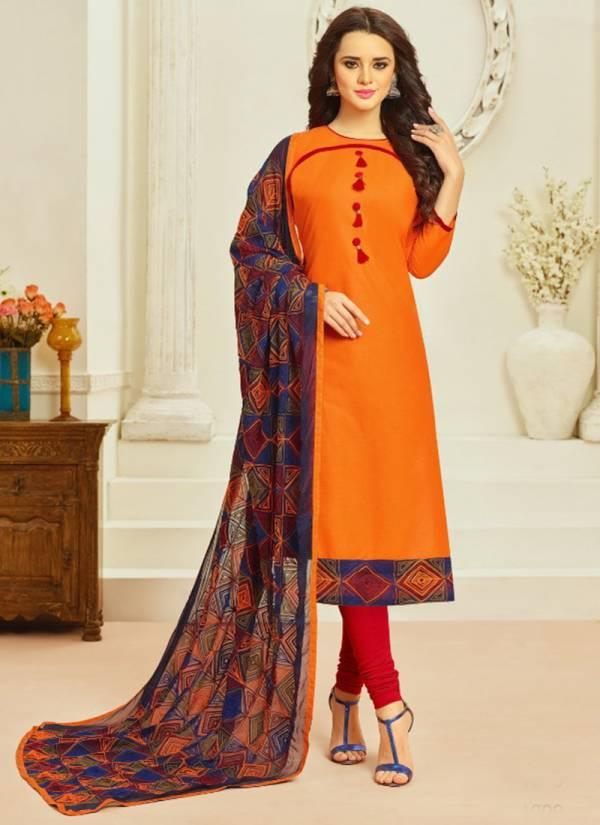 Samaira Fashion Monalisa Series 1001-1012 Cambric Cotton Embroidery Work New Designer Regular Wear Churidar Suits Collection