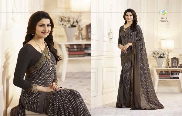 Nakshatra Fashion Studio Vol 4 Georgette Fancy Digital Printed Regular Wear Designer Sarees Collection