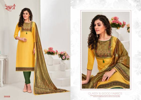 Rani Fashion Spanish Vol 10 Cotton Satin With Digital Printed Stylish Salwar Suits Collection