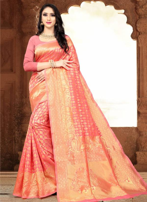 Kodas Taal Series 8114A-8114D Handloom Jacquard Silk Buy Now New Fancy Sarees Collection For Women
