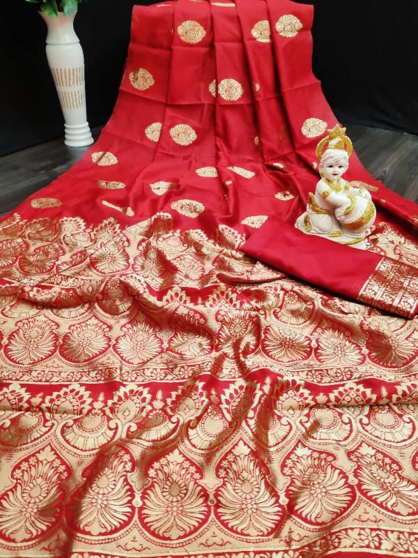 Ruhi Fashion Series K-1 - K-4 Jacquard Kota Silk Traditional Wear Sarees Collection