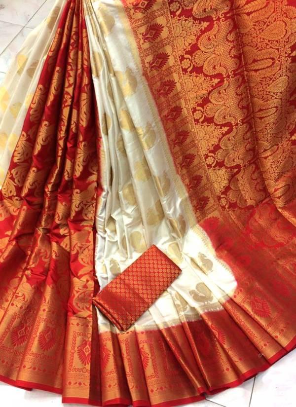 Nakshatra Fashion Studio Nylon Silk With Zari Weaving Reach Pallu Festival Wear Designer Non Catalogues Sarees Collection