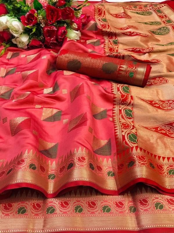 Shiv Saree Creation Series 09-16 Heavy Lichi Soft Silk New Designer Sarees Party Wear Collection