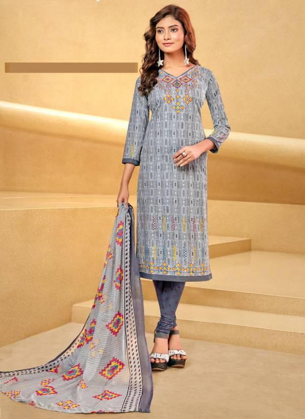 Balaji Cotton Arnika Vol 10 Pure Cotton Readymade Casual wera Salwar Suits Collection
