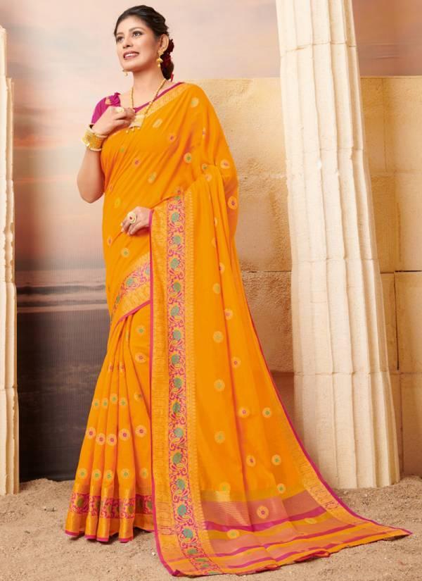 Sangam Pahnawa Series PEHNAWA-1001-PEHNAWA-1008 Heavy Banarasi Silk Designer Festival Wear Fancy Sarees Collection