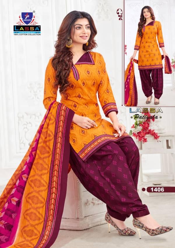MNF Lassa Patiyala Vol 14 Pure Cotton Fancy Printed Patiyala Suits Collection