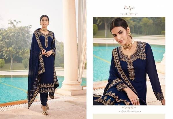 LT Fabric Zyrah Georgette With Heavy Work Ramdan Special Churidar Suits Collection