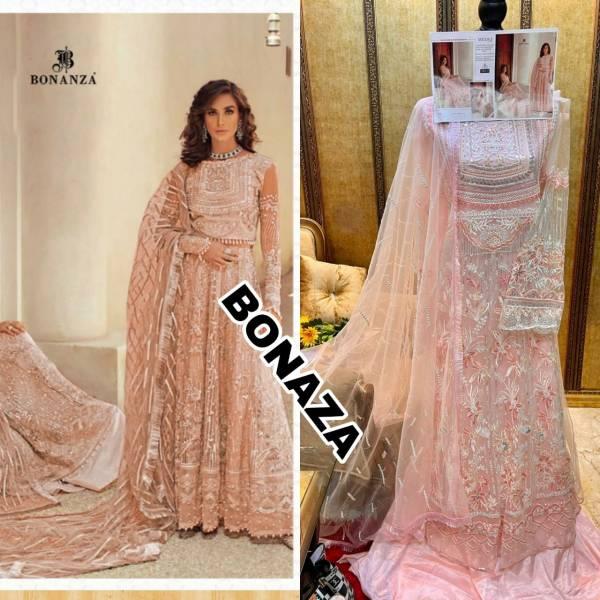 Volono Trendz Bonaza Museq Series MUSQ-1-MUSQ-3 Heavy Butterfly Net With Heavy Embroidery Work & Diamond Work Exclusive Designer Wedding Wear Pakistani Suits Collection