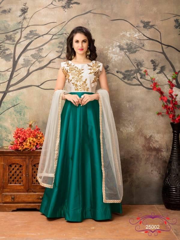 Dani Fashion Aanaya Vol 16 Tapeta Silk Latest Anarkali Suits Collection
