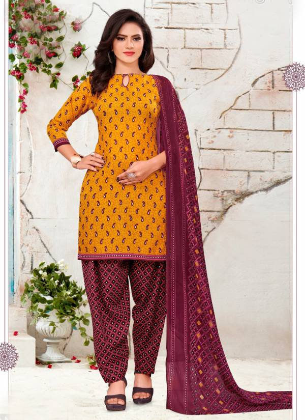 Amit 9 Star Vol 6 Series 1019-1032 Synthetic Printed Fancy Regular Wear Patiyala Suits Collection