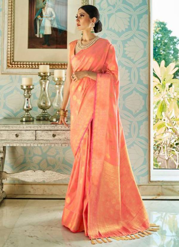 Rajtex Kamli Silk Series 132001-132006 Sana Two Tone Silk New Designer Party Wear Sarees Collection