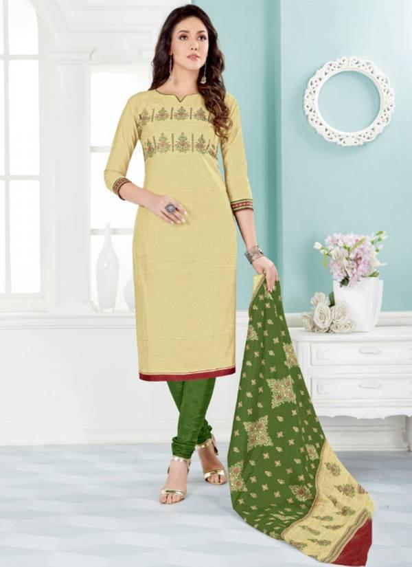 Ganesha Ananya Vol 14 Series 14004-14014 Cotton Printed  Daily Wear Beautiful Colors Readymade Churidar Suits Collection