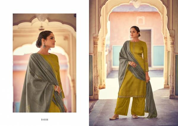 Deepsy Monalisa 4 Series 94001-94006 Nahya Silk Self Butti With Self Embroidery Festival Wear Salwar Suits Collection