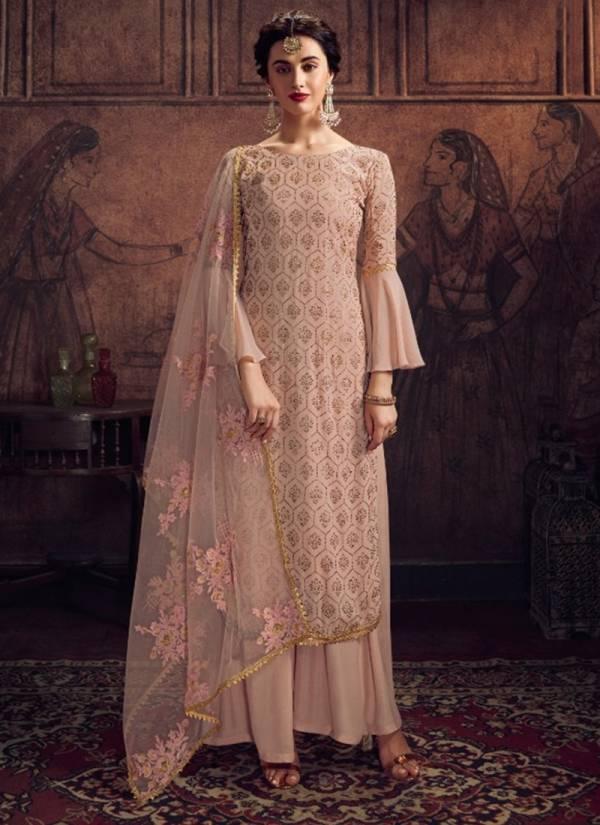Bhavesh Vaghasiya Miasha Series 8903A-8903D Rangoli With Swarovski Diamond Work New Designer Party Wear Palazzo Suits Collection