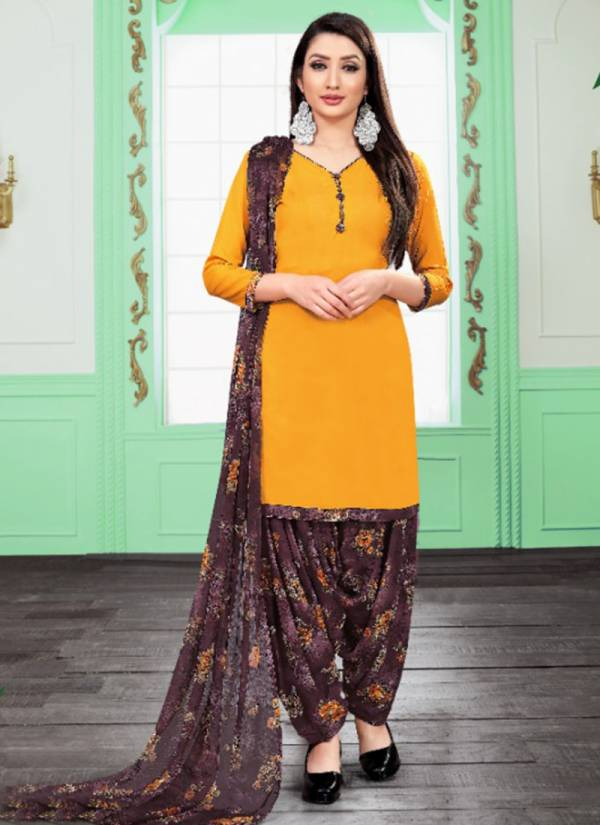 Sweety Fashion Milly Vol 36 Series 6001-6012 Leon Crepe Fancy Daily Wear Patiyala Suits Collection