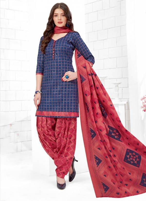 Ganesha Falak International Vol 21 Series 21006-21017 Cotton Printed New Beautiful Daily Wear Readymade Patiyala Suits Collection