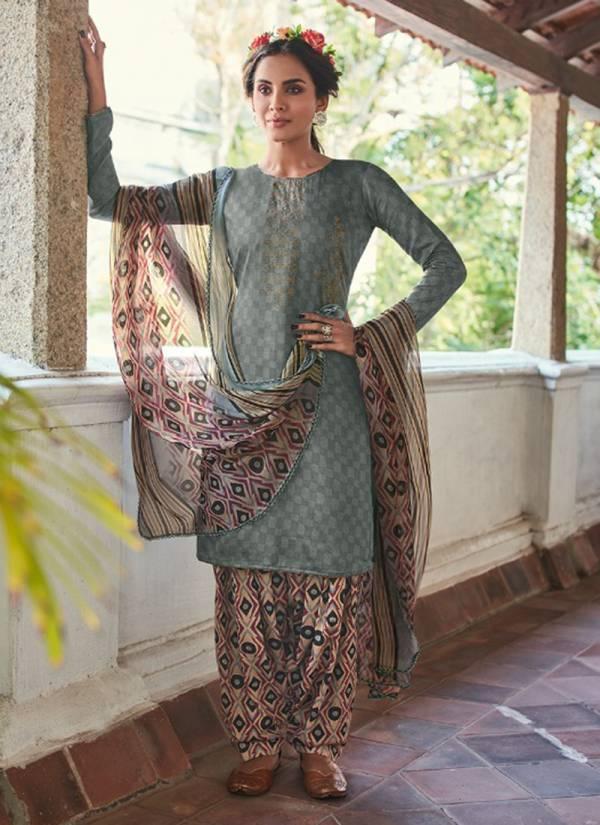 Sweety Fashion Coral Cotton Satin With Fancy Swarovski Work Festival Wear Designer Patiyala Suits Collection