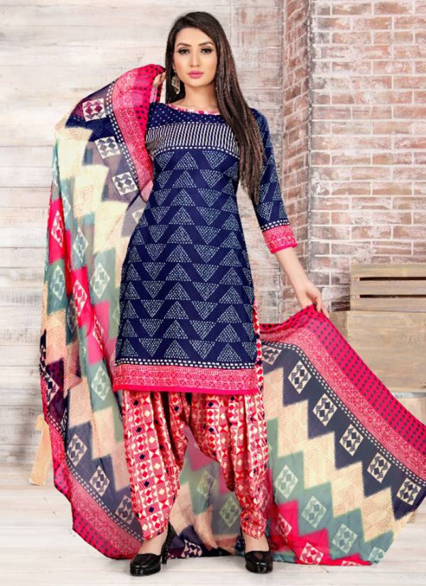Sweety Fashion Pummy Vol 29 Series 9001-9012 Crepe New Designer Casual Wear Patiyala Suits Collection