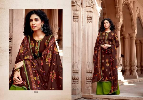 Sweety Fashion Koyal Vol 2 Series 2001-2008 Rayon Printed Regular Wear Fancy Palazzo Suits Collection