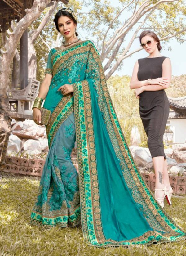Kalista Fashion Khawaab Hits 4 Series 6913-6918 Latest Fancy Slub Silk With Burfi Fancy Designer Party Wear Sarees Collection
