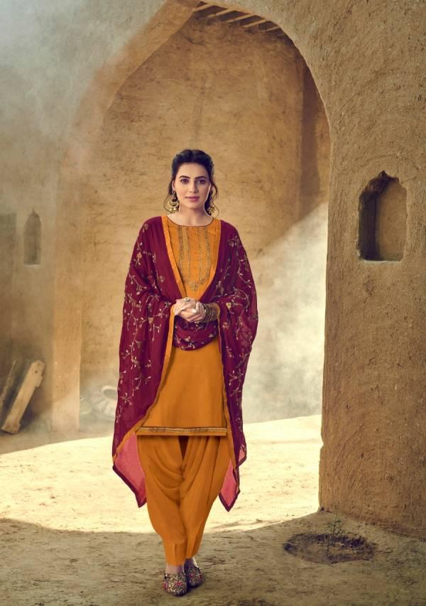 Zaveri Gajban Vol 1 Heavy Jam Cotton Embroidery Work Festival Wear Designer Patiyala Suit Collection
